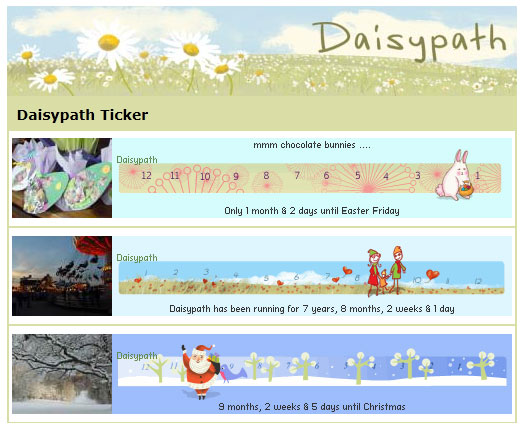 Daisypath Page tab on Facebook